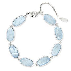 Kendra Scott Millie Bracelet In Sky Blue Illusion